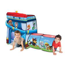 Paw Patrol Play hut Fun Play Tent Tunnel Pop Up Kids Playhouse Boy Girl Gift New
