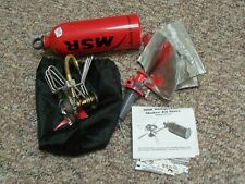 MSR Whisperlite Gas Backpacking Camp Stove w/ 22 oz.Fuel Bottle,& Pump