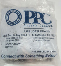 PPC POEGB-1GCW Ground Block With Integrated MoCA POE Filters Bag of 10 Bleden