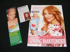 AUBREY O'DAY magazine clippings