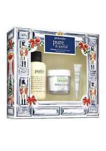 Philosophy Pure & Joyful Breath Set Purity Facial Eye Cleansing Gel Cleanser