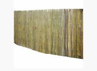 5m x 1,5m Bambusmatte Bambus-Sichtschutzmatte Zaun- Windschutz für Garten Balkon