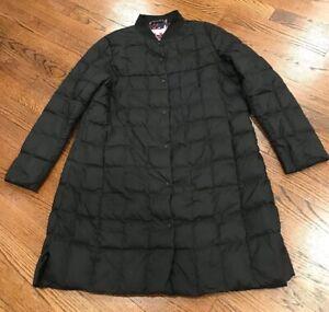 trina by TRINA TURK Puffer Down Jacket Parka Womens Size XL Black Quilted TK7797