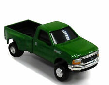 ERTL  Collect & Play  1:64 diecast Ford F-350 Dually pickup Truck In green