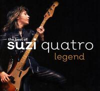 """Suzi Quatro : Legend: The Best of Suzi Quatro VINYL 12"""" Album 2 discs (2018)"""
