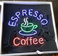 "New Espresso Coffee Shop Open Beer Bar Neon Light Sign 24""x20"""