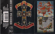 "GUNS N' ROSES ""APPETITE FOR DESTRUCTION"" RARE SPANISH CASSETTE / SLASH AXEL ROSE"