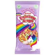 Swizzels Rainbow Drops Unicorn Edition 80g LARGE BAG