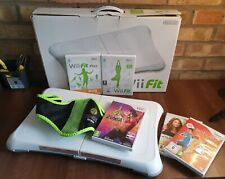 Wii Fit Board & Zumba Fitness Bundle Includes 5 Games - Console NOT Included