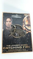 More details for the hunger games catching fire mocking jay authentic pin prop replica jewelry