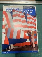 June 1940 Douglas Aircraft Airview Magazine American Red Cross Ad