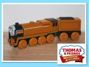 Thomas The Tank Engine & Friends Wooden Railway Train MURDOCH WITH TENDER