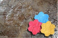 Random Rock Concrete Stamp Set - 5 pc.