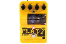 Vox Tone Garage Flat 4 Boost Pedal, Preamp Tube, Mid-boost, Bypass Switches