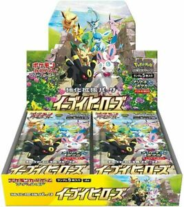 PSL Pokemon Card Game Enhanced Expansion Pack Eevee Heroes Box S6a Japanese