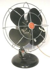 """WORKING but Less-Than-Perfect GE GENERAL ELECTRIC 10"""" OSCILLATING 1 SPEED FAN"""