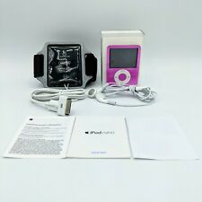 Apple iPod Nano 8GB - 3rd Generation A1236 Hot Pink- Complete - Tested