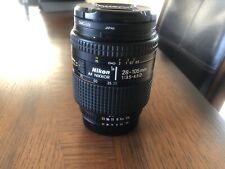 Nikon AF Nikkor 28-105mm f/3.5-4.5 D Zoom Macro Lens w/Caps