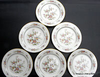 """ASIAN SONG by NORITAKE ~ Lot of 6 ~ 8 3/8"""" Salad / Luncheon Plates"""