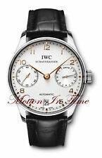 IWC PORTUGUESE 7-DAY POWER RESERVE IW500109 w/ ROSE GOLD NUMERALS