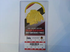 CHICAGO STANLEY CUP 2010 ROUND 3 CONFERENCE FINAL UNUSED TICKET