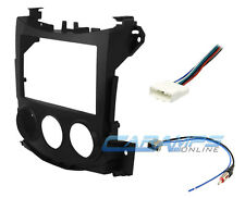 370 Z SINGLE OR DOUBLE 2 DIN CAR STEREO DASH INSTALLATION KIT W/ WIRE HARNESS