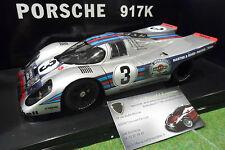 PORSCHE 917 K #3 Winner SEBRING 1971 MARTINI ELFORD LAROUSSE 1/18 AUTOart 80034