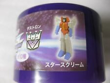 TRANSFORMERS Starscream Figure Suntory Boss Promo Japan
