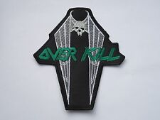 OVERKILL IRONBOUND THRASH METAL EMBROIDERED PATCH