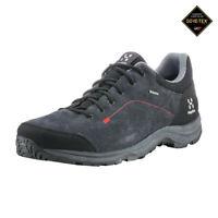 Haglofs Mens Krusa GT Walking Shoes Black Sports Outdoors Waterproof Breathable
