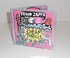 CHEAP THRILLS Frank Zappa 1998 Rykodisc Release Brilliant Compilation CD