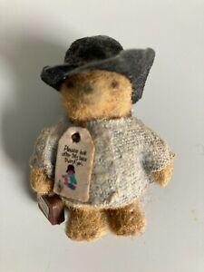 Vintage Collectable Paddington Bear figure 1980s
