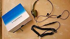 Plantronics Duoset H141 Headset Sound Inovation W/ Extension Cord No Ear Clip