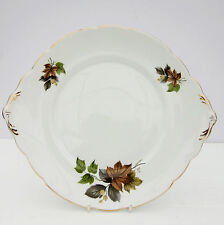 Vintage Royal Stafford Beechwood Bone China Cake Plate