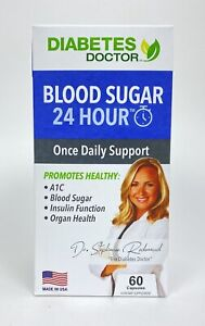 Diabetes Doctor Blood Sugar 24 Hour Once Daily Support 60 Capsules