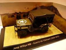 Auto 1/43 Test : Jeep Willys MB Krieg Vietnam (1958/1975)