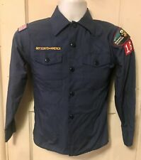 Vintage Usa Boy Cub Scouts of America Minnesota Scouting Youth Medium Shirt