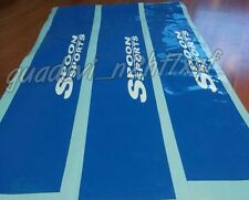 SPOON SPORTS Decal Windshield Banner Sun strip sun visor sticker JDM