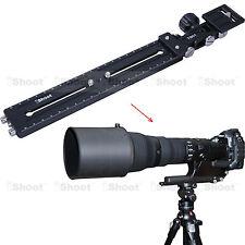 Teleobjektiv Halter Schiene Neiger Kameraplatte für Kamera Stativ Stativkopf