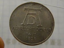 Coins Home AU/UNC 1971 D Germany silver 5 mark Lot#E1379 Uncertified Ungraded