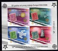 Montenegro Block 2B**  50 Jahre Europa Michel 80,00 (2359)