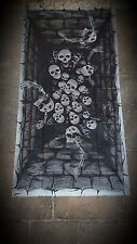 HALLOWEEN SHALLOW GRAVE FLOOR DECORATION POSTER SCARY ZOMBIE PARTY DECORATION