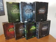 7 World of Warcraft - WoW Collector's Editions - Burning Crusade, Cataclysm