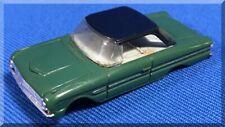 AURORA MoDEL MoToRING THUNDERJET 500 FORD FALCON TJET HO SLOT CAR OLIVE GREEN