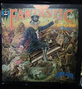 ELTON JOHN Captain Fantastic & the Brown Dirt Cowboy Gatefold Album Released1973