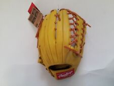 "Rawlings Gamer Baseball Glove TRAP-EZE GR5G8 12.5"" Lime RHT Outfielders"