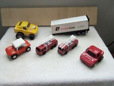 "Vintage Lot of (6) ""Tonka - Cars/Trucks/Semi Trailer"" (Pressed Steel & Diecast)"
