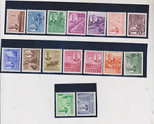 NORTH BORNEO,1950 nice set MNH