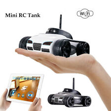 I - Spy RC Tank Car 2MP HD Camera Vedio WiFi Remote Control By Iphone Android
