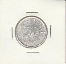 China 1920 Kwang Tung 20 cents silver coin